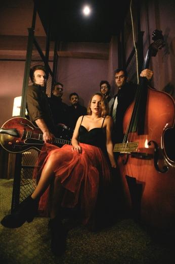 the speakeasies_ swing band! 2