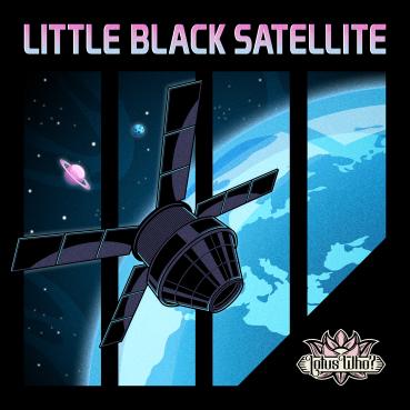 BLACK SATELLITE COVER